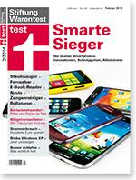 Der Strompreisvergleich der Stiftung Warentest 2014 ist im Heft 02/2014 nachzulesen